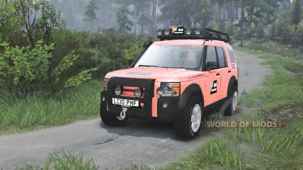 Land Rover Discovery 3 G4 [08.11.15] para Spin Tires