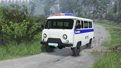 EL UAZ-3909 PPP [25.12.15] para Spin Tires