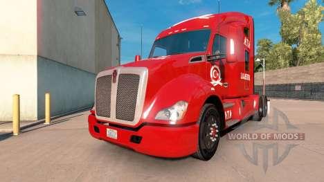 ATA la Logística de la piel para Kenworth tracto para American Truck Simulator