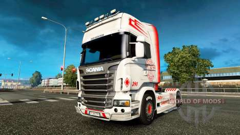 Vabis de la piel para Scania camión para Euro Truck Simulator 2