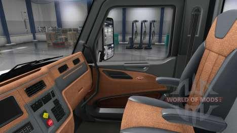 Actualizado interior en un Peterbilt 579 para American Truck Simulator