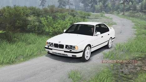 BMW M5 (E34) 1995 [25.12.15] para Spin Tires