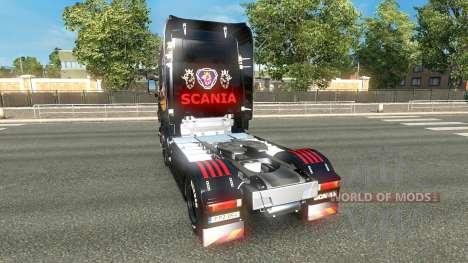 De la piel para Scania camión Scania para Euro Truck Simulator 2
