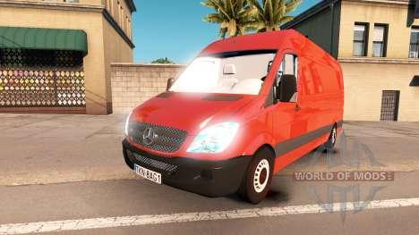 Mercedes-Benz Sprinter LWB para American Truck Simulator