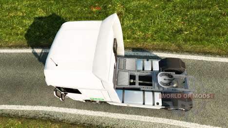Skin PFAB on tractor DAF para Euro Truck Simulator 2