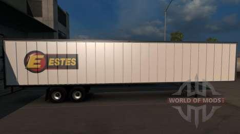 Estes Trailer para American Truck Simulator