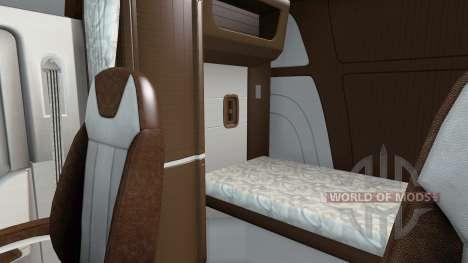 El nuevo color Peterbilt 579 interior para American Truck Simulator