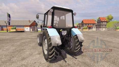MTZ-Belarús 1025 para Farming Simulator 2013