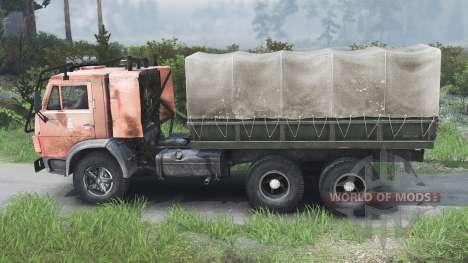 KamAZ-53212 [25.12.15] para Spin Tires