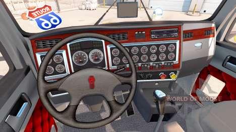 Kenworth T600 Day Cab para American Truck Simulator