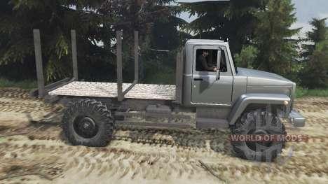 GAZ-3308 [25.12.15] para Spin Tires