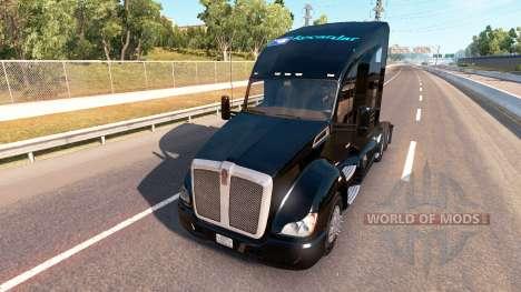 La piel de un Kenworth tractor en la MAZORCA para American Truck Simulator