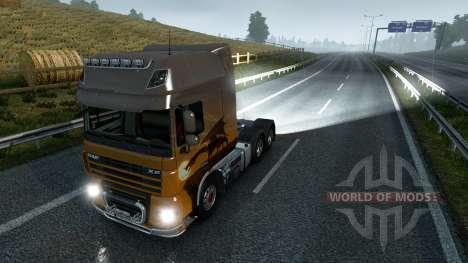 Luces antiniebla traseras para Euro Truck Simulator 2