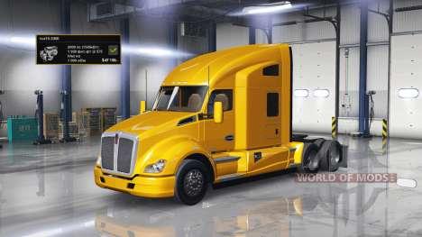 Motor 2000 de HP para American Truck Simulator