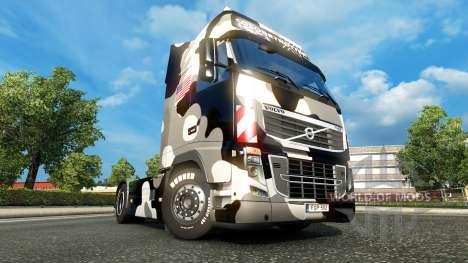 La piel Ejército de los estados unidos de Nieve  para Euro Truck Simulator 2