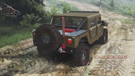 Hummer H1 [16.12.15] para Spin Tires