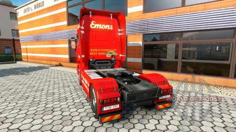 Emons de la piel para Scania camión para Euro Truck Simulator 2