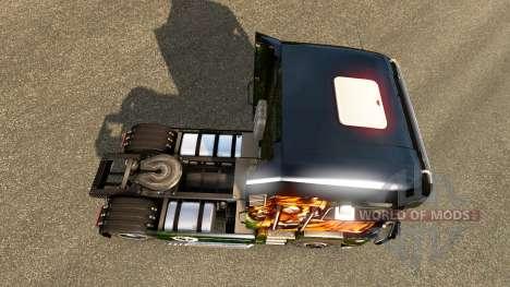 Piel de tigre para Renault camión para Euro Truck Simulator 2