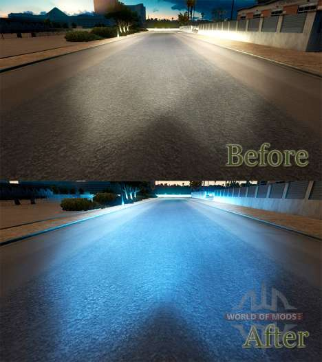 La luz azul para American Truck Simulator