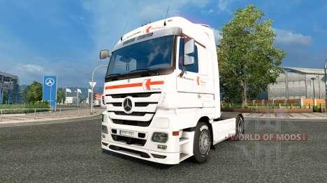 La piel Klaus Bosselmann en la unidad tractora M para Euro Truck Simulator 2