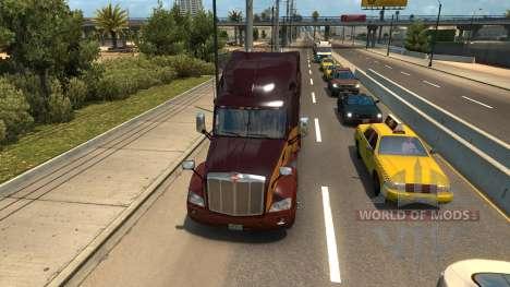 Aumento de la densidad de tráfico para American Truck Simulator