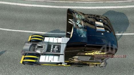 Al Capone de la piel para Scania camión para Euro Truck Simulator 2