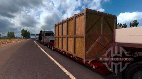 Doll Vario 3 Axle Trailer para American Truck Simulator