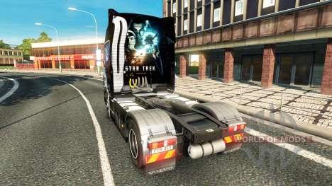 La piel de Star Trek en la Oscuridad para camion para Euro Truck Simulator 2