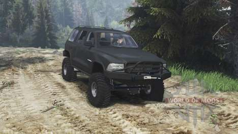 Dodge Durango 1998 [25.12.15] para Spin Tires
