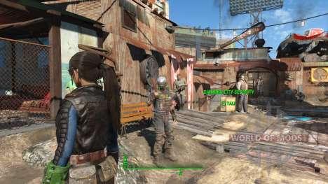 Azar Ponytail Hairstyles para Fallout 4