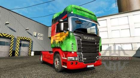 La piel Inferior en la unidad tractora Scania para Euro Truck Simulator 2
