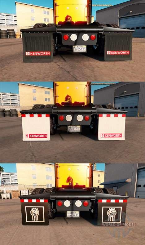 HD colgajos de barro para American Truck Simulator