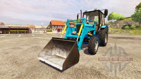 MTZ-82.1 Belarús [loader] para Farming Simulator 2013