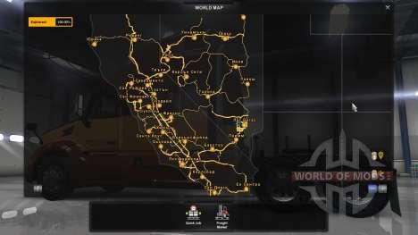 La ciudad búlgara de nombres para American Truck Simulator