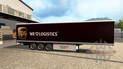 Skins para remolques v2.0 para Euro Truck Simulator 2