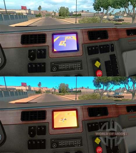 Fondos de color Navegador para American Truck Simulator