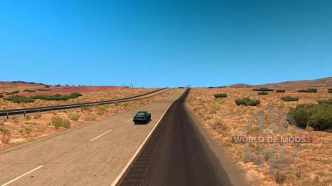 Reducción de la densidad de tráfico para American Truck Simulator