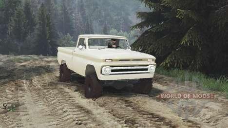 Chevrolet C30 1966 [tan] v1.1 [16.12.15] para Spin Tires