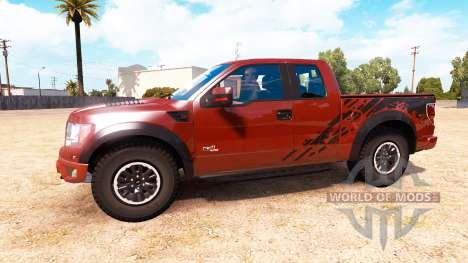 Ford F-150 SVT Raptor v1.1 para American Truck Simulator