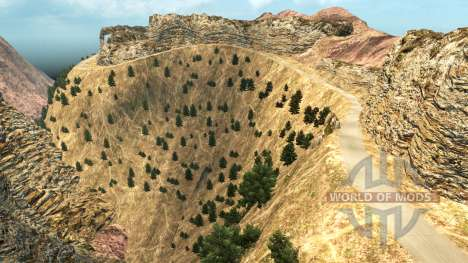 Las Carreteras En El Norte De Nevada para American Truck Simulator