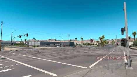 El tiempo de actualización para American Truck Simulator