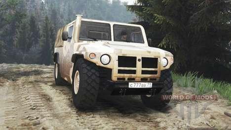 GAZ-233002 [25.12.15] para Spin Tires