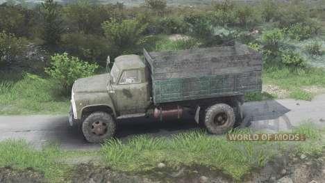 GAZ-53 [08.11.15] para Spin Tires