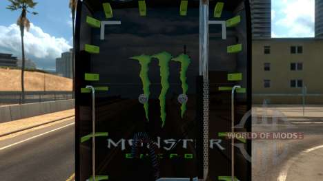 Kenworth T680 Monster Energy para American Truck Simulator