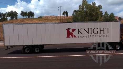 Knight Trailer para American Truck Simulator