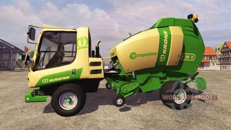 Krone Comprima V180 [osimobil] para Farming Simulator 2013