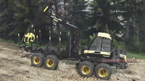 PONSSE Buffalo 8x8 [16.12.15] para Spin Tires
