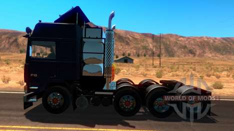 Volvo F10 Heavy Transporter Truck para American Truck Simulator
