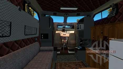 Kenworth W900B Long para American Truck Simulator