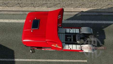 La piel de Coca-Cola de camiones Scania para Euro Truck Simulator 2